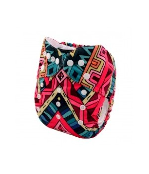Alva Aztec OSFM Pocket Nappy