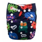Alva Monsters OSFM Pocket Nappy