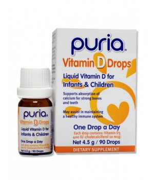 Puria Vitamin D Drops