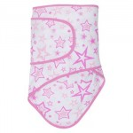 Miracle Blanket - Newborn Swaddle - Pink Stars