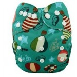 Alva Hot Air Balloons OSFM Pocket Nappy