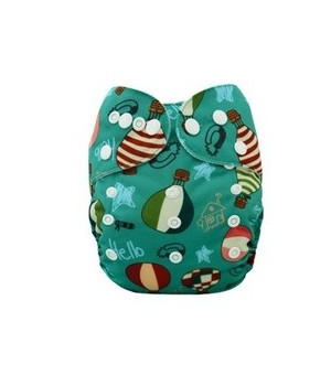 Hot Air Balloons OSFM Pocket Nappy