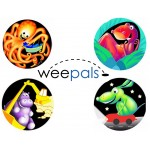 Weepals Toilet Sticker - 4 Pack