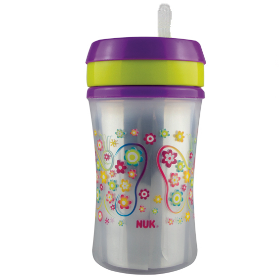 Straw Cup Purple