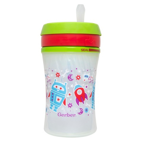 Straw Cup Green