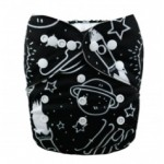 Alva Rocket Ship OSFM Pocket Nappy
