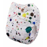 Alva Paint Splotches OSFM Pocket Nappy