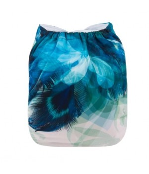 Alva Peacock OSFM Pocket Nappy