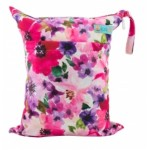 Alva Poppies Double Zippered Wetbag