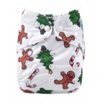 Alva Christmas OSFM Pocket Nappy LIMITED EDITION