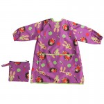Tidy Tot Long Length Coverall Bib - Plum Purple