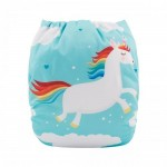 Alva Unicorn OSFM Pocket Nappy