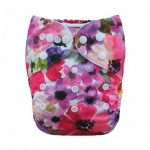 Alva Poppies OSFM Pocket Nappy