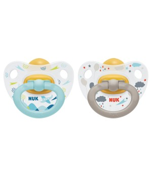 NUK Happy Kids Latex Soother - 2 Pack