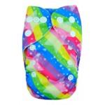 Alva Rainbow Newborn Pocket Nappy