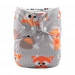Alva Foxes Big-Size Pocket Nappy
