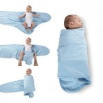 Miracle Blanket - Newborn Swaddle -Blue