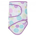 Miracle Blanket - Newborn Swaddle - Colourburst Flower