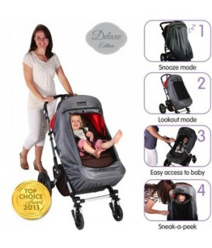 SnoozeShade Plus - Deluxe Buggy Blackout