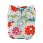 Alva Bright Flower OSFM Pocket Nappy