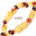 Bambeado Baby Baltic Amber Bracelet