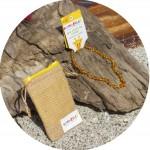 Bambeado Baby Baltic Amber Necklace